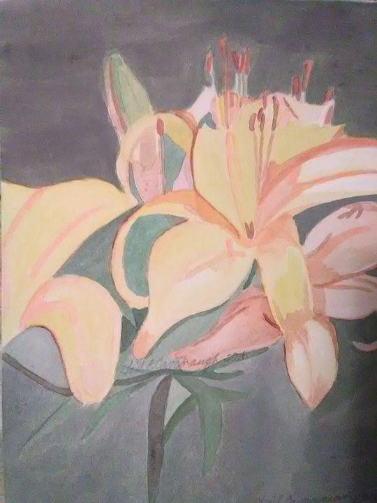 Luscious Lilies - Gail Cavanaugh Art