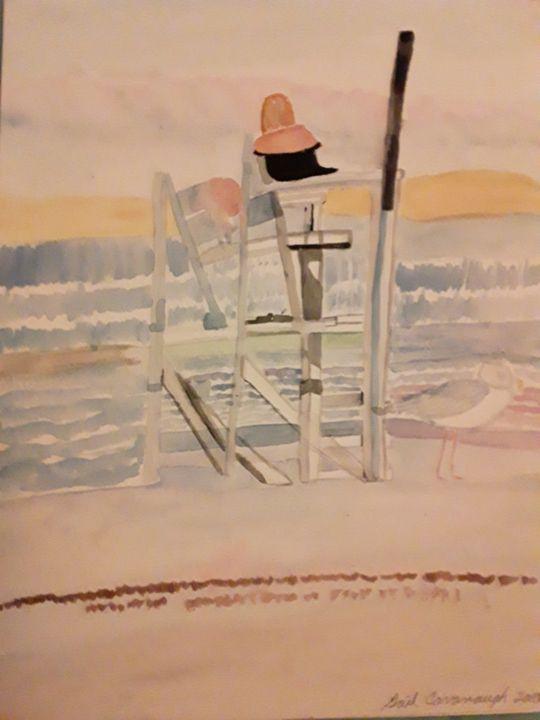 Beach Day - Gail Cavanaugh Art