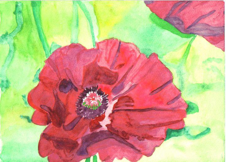 Poppy - Gail Cavanaugh Art