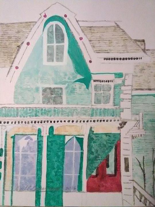 My House - Gail Cavanaugh Art