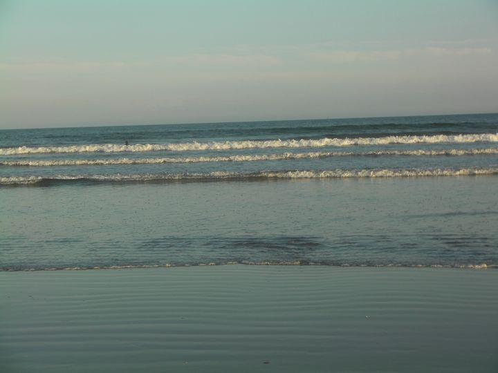 Waves at the Beach - Gail Cavanaugh Art