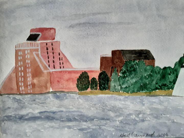 The Hotel - Gail Cavanaugh Art