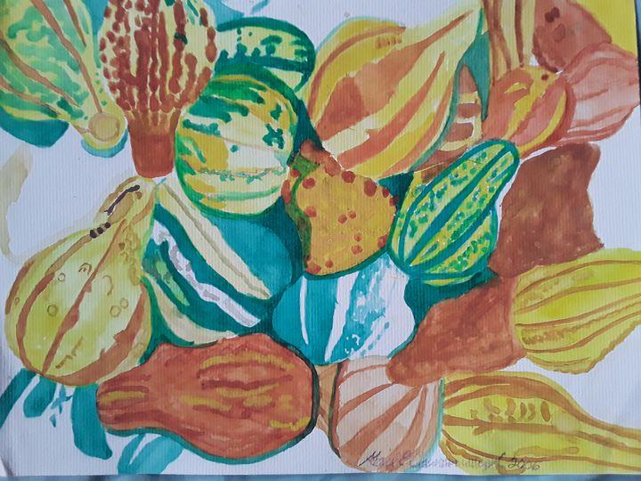 Squashes - Gail Cavanaugh Art