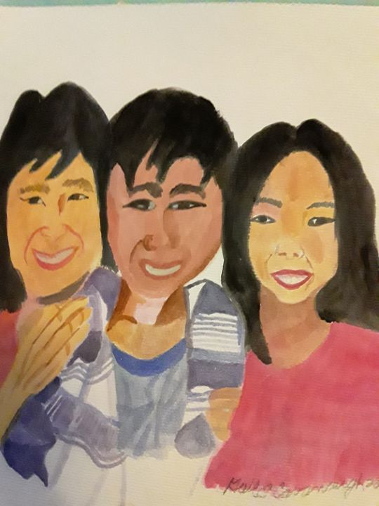 The Family - Gail Cavanaugh Art