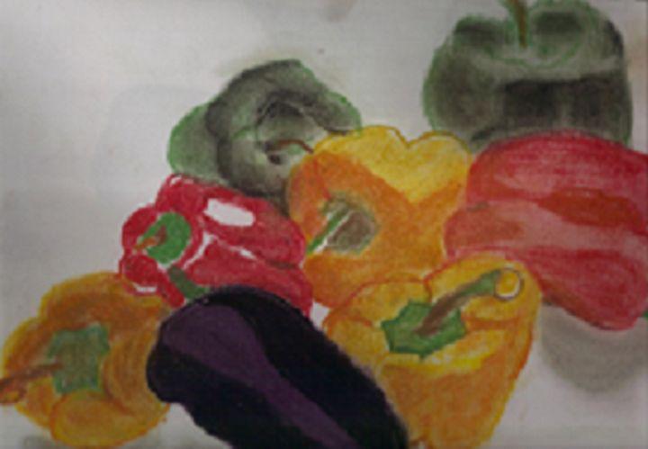 Pepper Work - Gail Cavanaugh Art