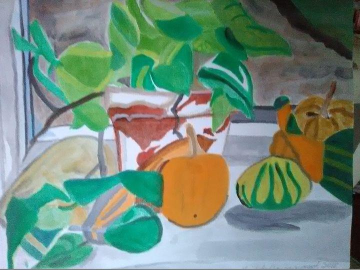 Gourds - Gail Cavanaugh Art