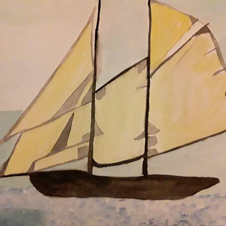 Yachting - Gail Cavanaugh Art