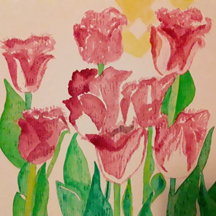 Tulips - Gail Cavanaugh Art