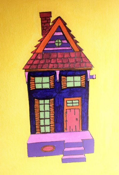 New Orleans Shotgun House Painting - Followsuccess