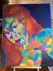 Abstract Female Painting