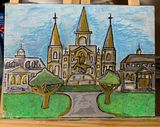 New Orleans Jackson Square Painting