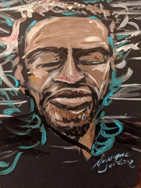 George Floyd - Monique Jordan Galeries