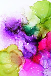 Alcohol Ink Abstract Modern Art