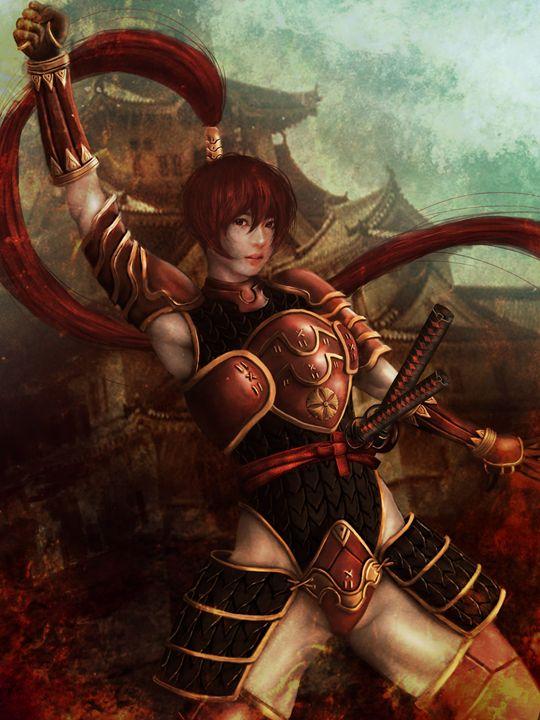Samurai Girl - FrankenStain