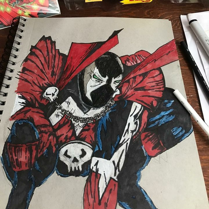 Spawn - Clown the Artist
