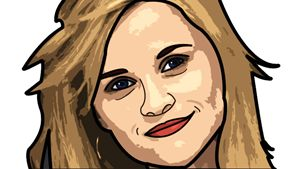 Reese Witherspoon Illustration
