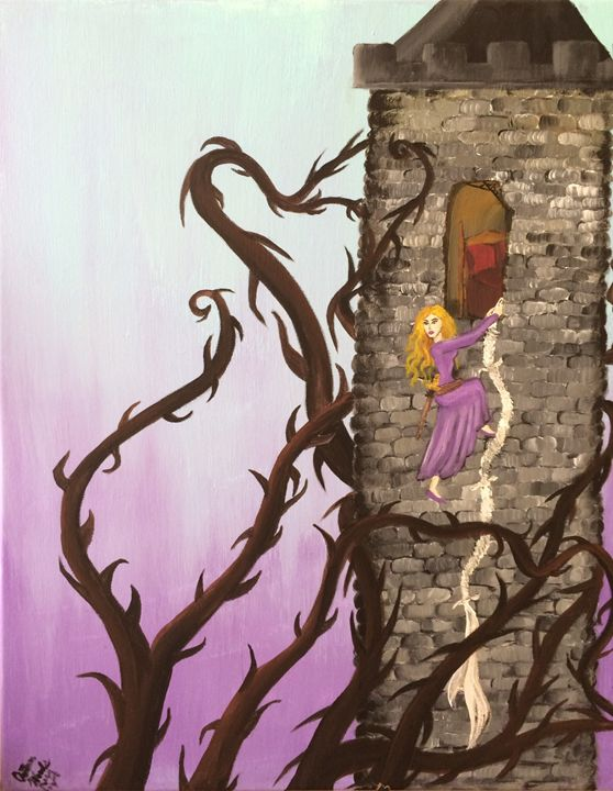 Briar Rose Among the Thorns - Autumn Woods