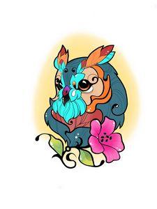 Mythical Owl