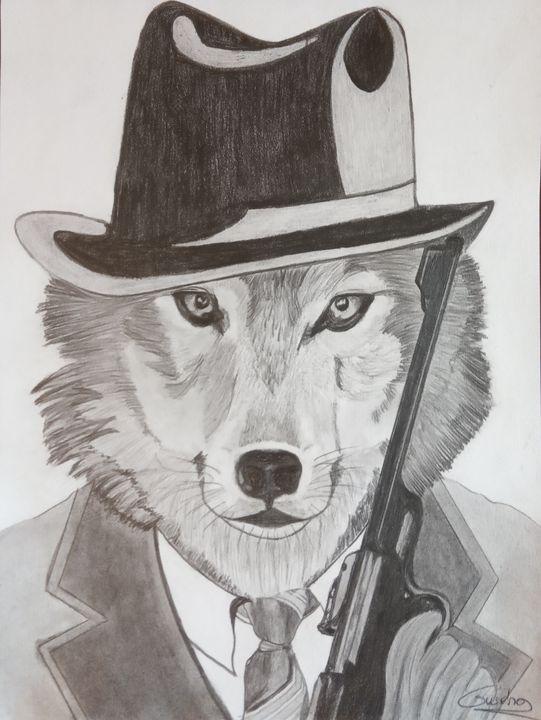 Le loup, agent secret. - Gweno