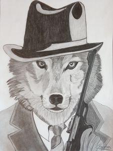 Le loup, agent secret.