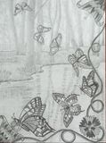 La danse des papillons monarques.