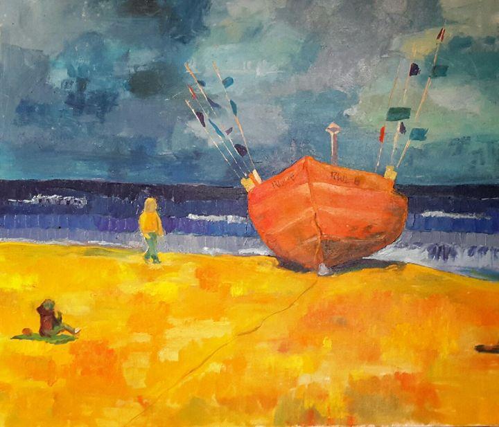 Boat - Ewa Witkowska