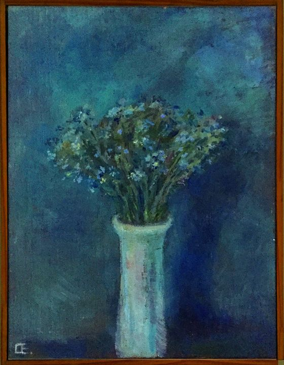 Violets - Classic Art for Modern Home