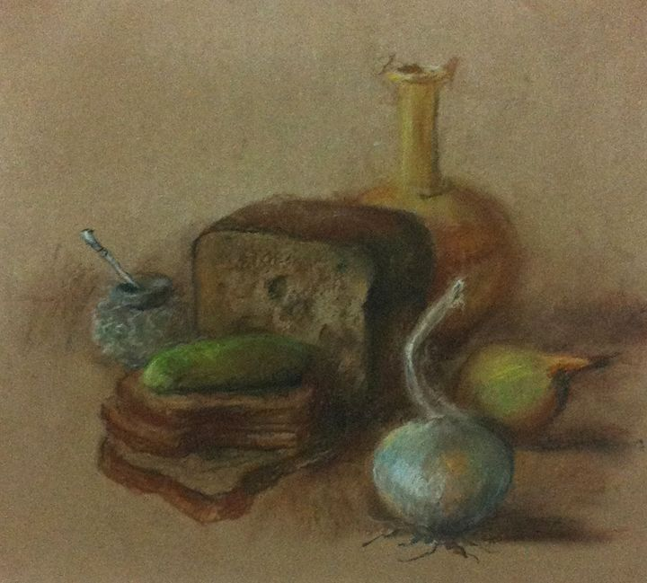 Bread&onions - Classic Art for Modern Home