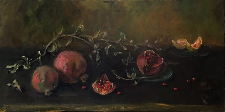 Pomegranate 2 - Classic Art for Modern Home