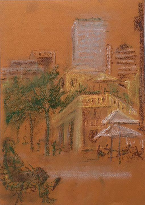 A little Tel-Aviv - Classic Art for Modern Home
