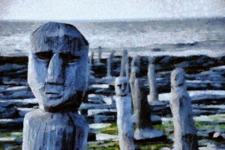 The beach - Carol-Ann Taillefer