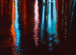 Red Night on the River #1