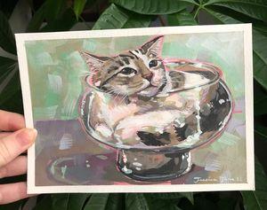 Cats are Liquid #2 Print