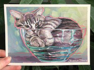 Cats are Liquid #3 Print