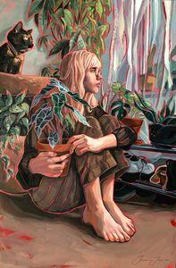 Houseplant Jungle Print