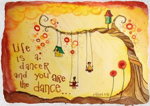 life is a dancer