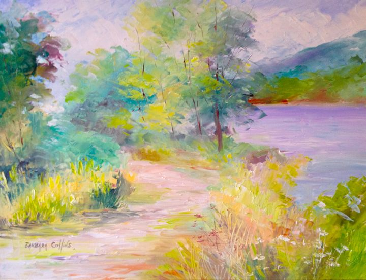 Path Along the Connecticut River - Rainhaven Studio of Fine Art