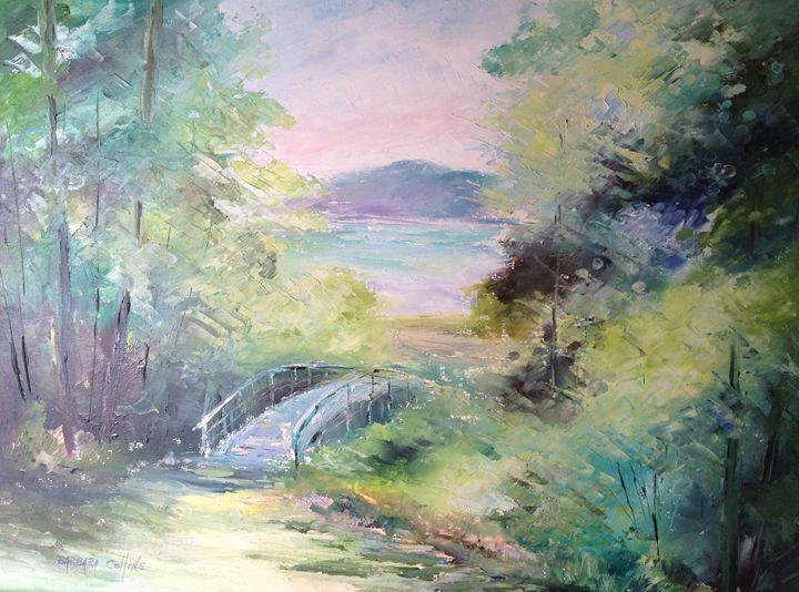 Bridge at Indian Lake - Rainhaven Studio of Fine Art