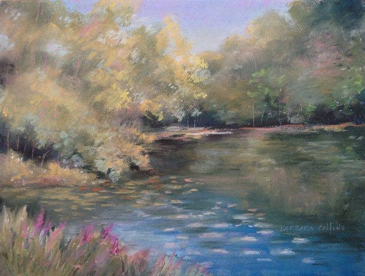 Lily Pond - Rainhaven Studio of Fine Art