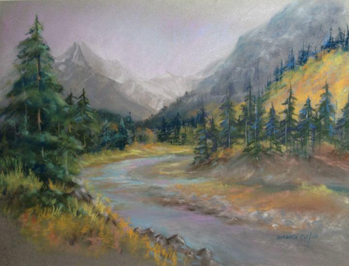 Pine Mountains - Rainhaven Studio of Fine Art