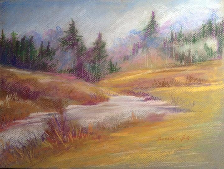 Golden field - Rainhaven Studio of Fine Art