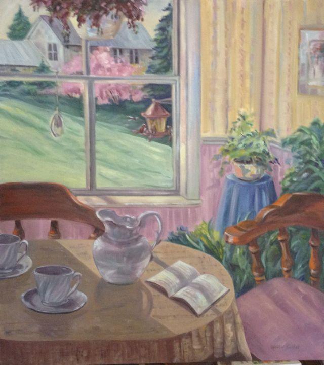 Tea for Two - Rainhaven Studio of Fine Art