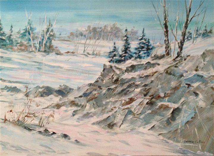 Winter Scape - Rainhaven Studio of Fine Art
