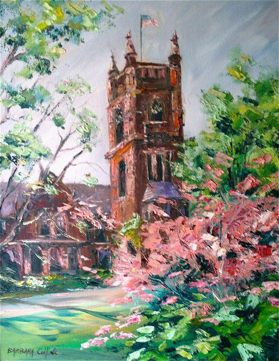 College Hall, Smith College - Rainhaven Studio of Fine Art