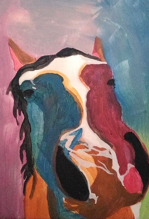 Curiosity horse of color - Joe Snyder