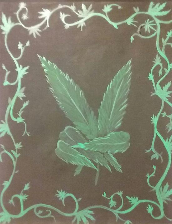 marijuana peace sign - Joe Snyder