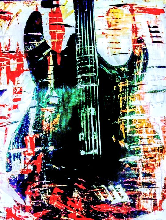 Abstract Guitar-Lead - Joe Snyder