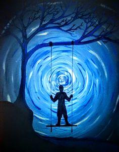 Blue Spiral swing