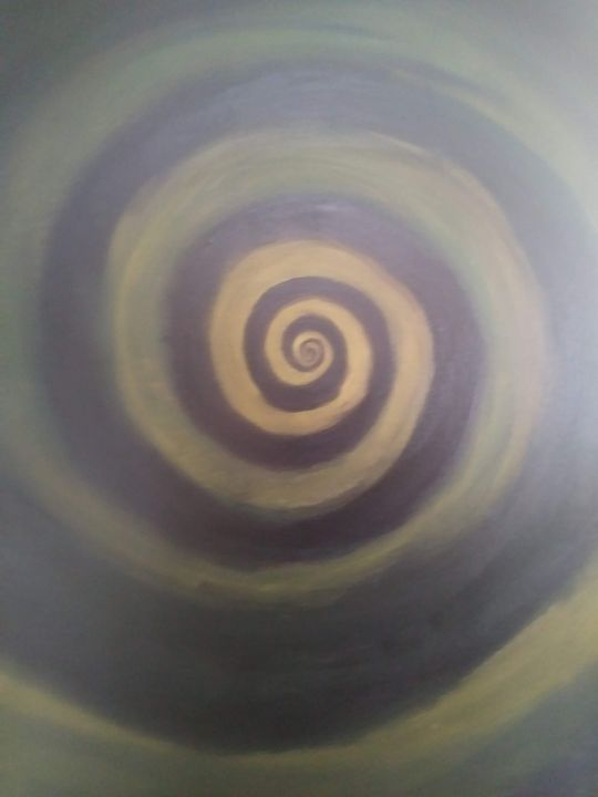 Dark green Spiral - Joe Snyder