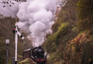 Aproaching Goathland - Photographs by David Hollingworth